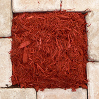 decorative red mulch